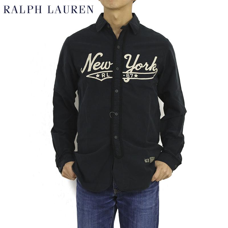 New Work Ralph York Lauren Embroidery Polo Oxford Shirt sQthrd