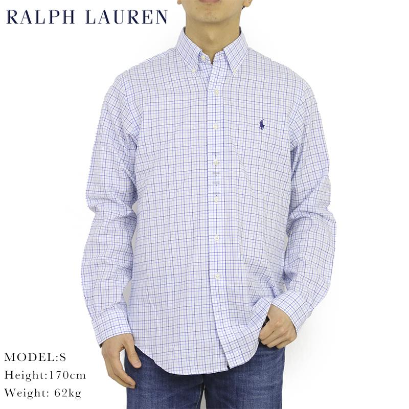 ポロ ラルフローレン ボタンダウン 長袖シャツ クラシックフィット タッターソールチェック POLO Ralph Lauren Men's