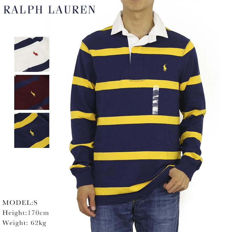 ポロ ラルフローレン カスタム スリム フィット 長袖 ラガーシャツ POLO Ralph Lauren Men's