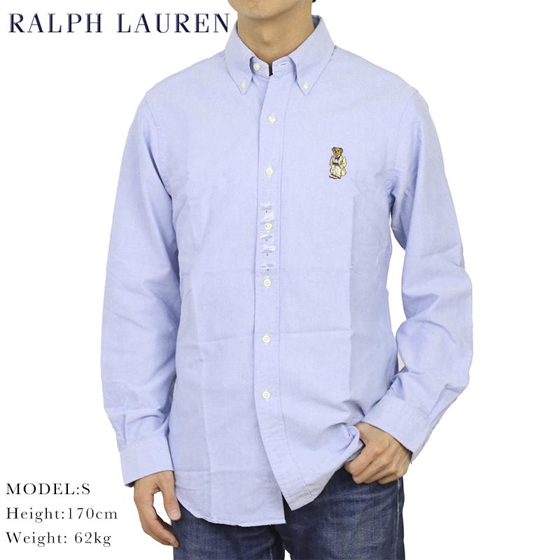 定番ラルフローレンオックスフォードボタンダウンシャツ ポロ ラルフローレン 長袖 クラシックフィット ポロベアー 刺繍 ボタンダウンシャツ POLO Ralph キャンペーンもお見逃しなく Lauren