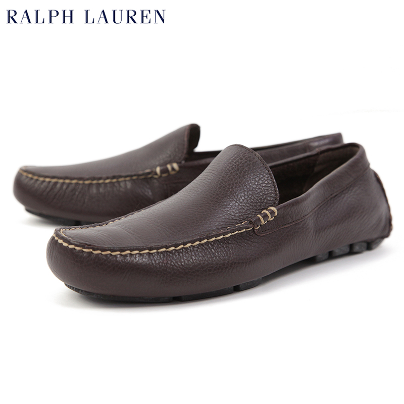 Driving Shoes Brown Leather