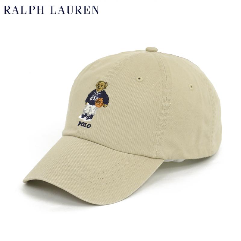 ポロベアー刺繍ハット Polo by Ralph Lauren POLO BEAR Baseball Cap US (BLACK) キャップ ラルフローレン ポロ ワンポイント
