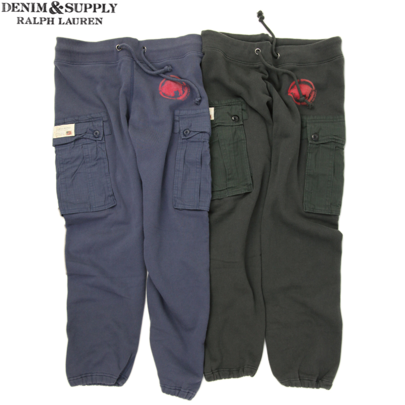 hot-selling cheap moderate cost hot-selling latest Denim & Supply Ralph Lauren Men's Sweat Cargo Pants denim & supply Ralph  Lauren men sweat shirt cargo pant