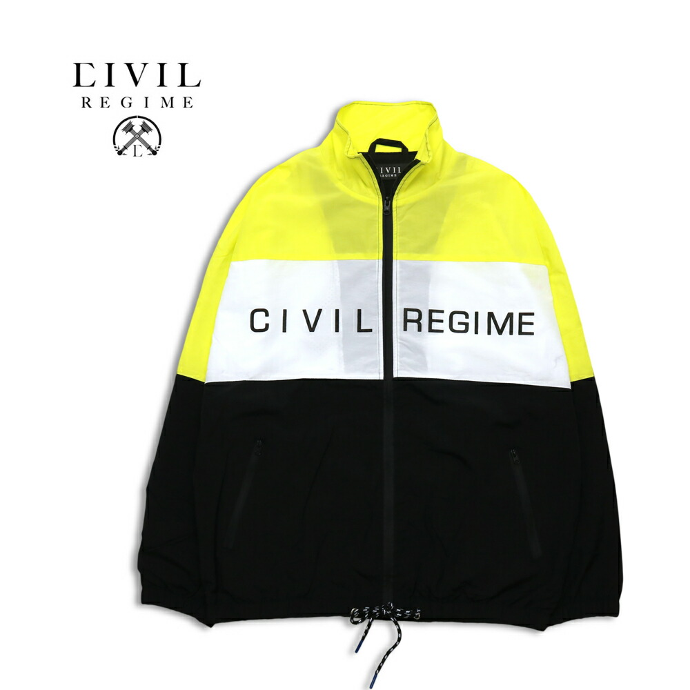 Civil Regime シビル・レジーム ENERGY TECHNO JACKET NEON 18CV-HL840J ナイロンジャケット M/L/XL