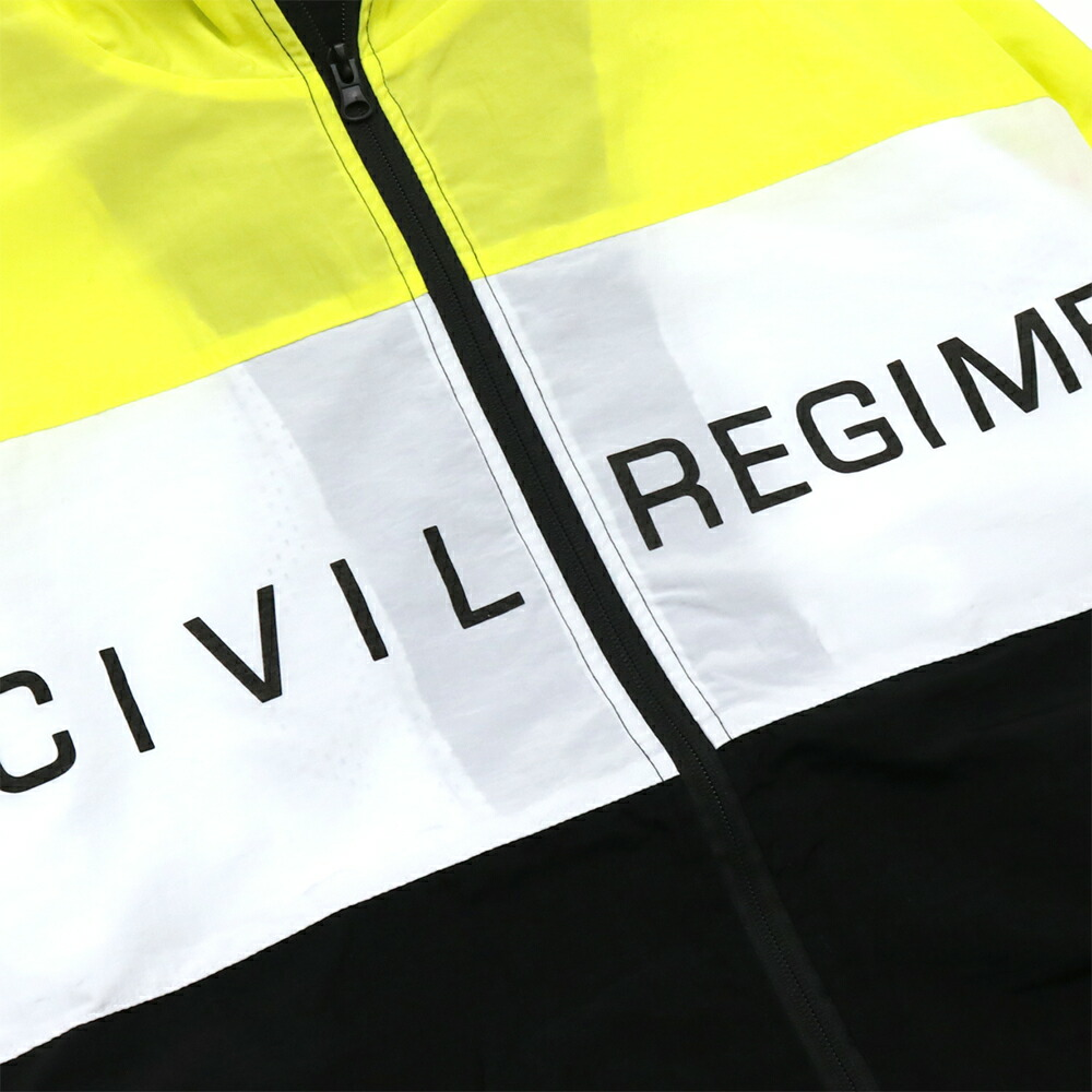 楽天市場 civil regime シビル レジーム energy techno jacket neon