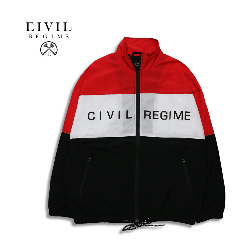 Civil Regime シビル・レジーム ENERGY TECHNO JACKET RED 18CV-HL840J ナイロンジャケット M/L/XL
