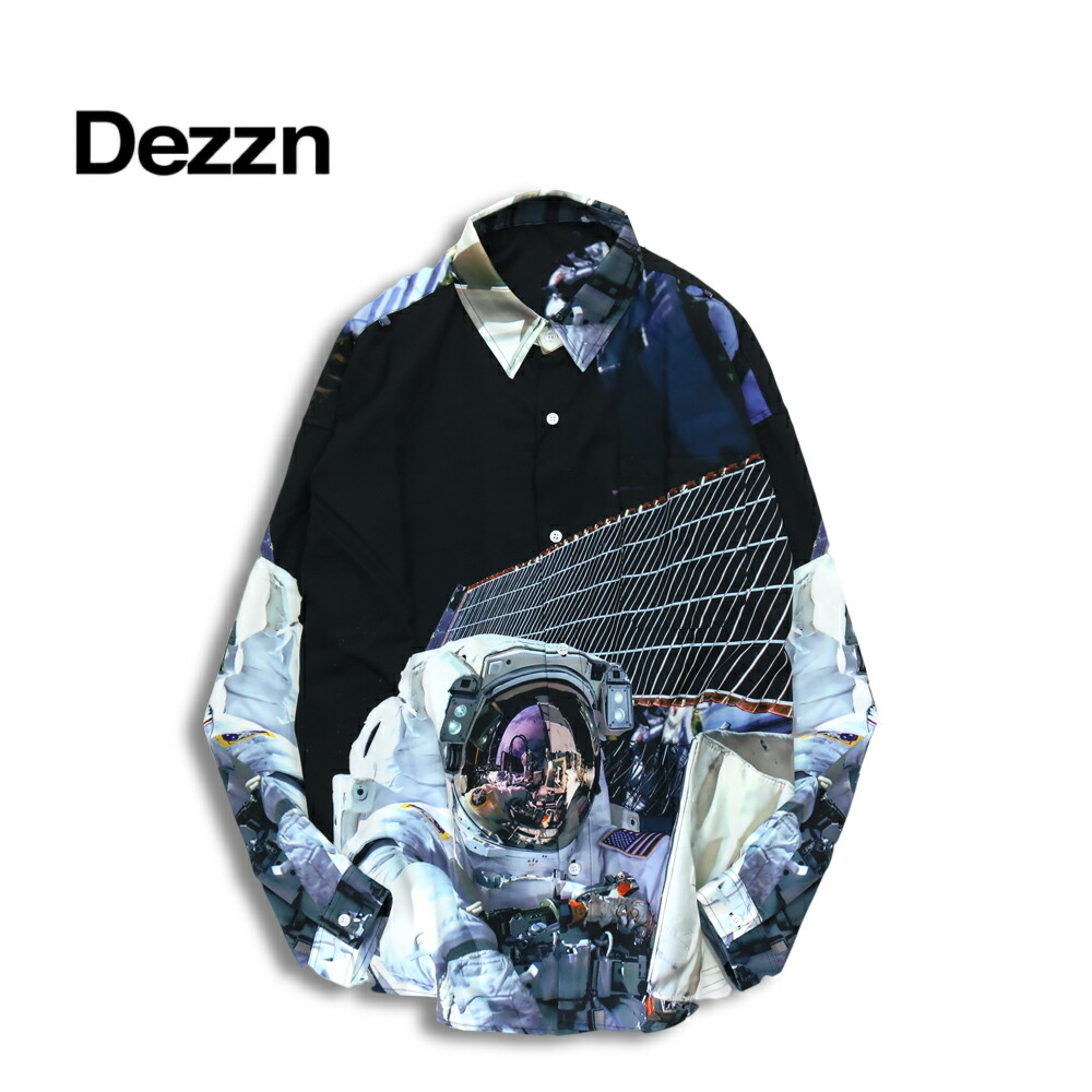 DEZZN ディズーン Space Shirts Multi 総柄 シャツ