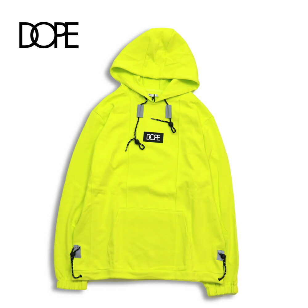 DOPE ドープ CORE-TECK PLEATED PULLOVER S.GREEN パーカー メンズ レディース dope couture dope sport M L XL