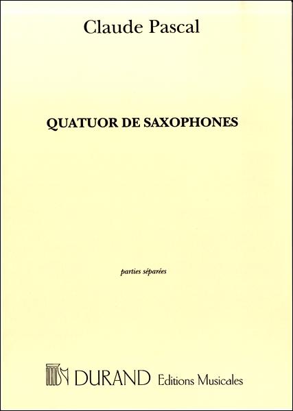 【取寄品】GYW00077013パスカル サクソフォン四重奏曲:パート譜セット【楽譜】【送料無料】【smtb-u】[音符クリッププレゼント]