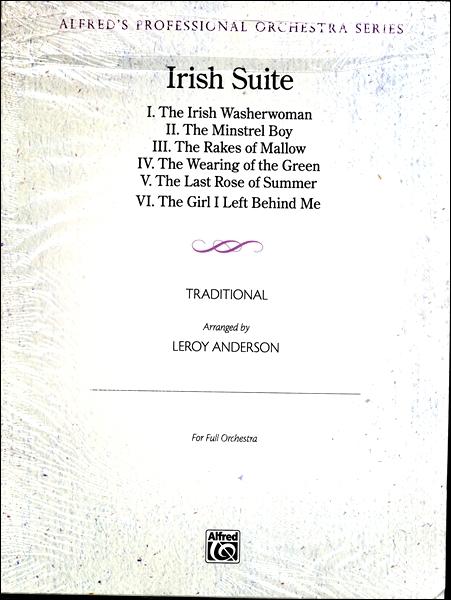 【取寄品】GYA00110642 アンダーソン アイルランド組曲:指揮者用スコアパート譜【楽譜】【送料無料】【smtb-u】[音符クリッププレゼント]