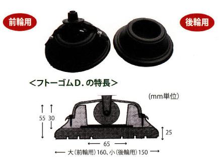 【取寄品】BO-FTD-GP-02 フトーゴムD.グランドピアノ型 茶【沖縄・離島以外送料無料】