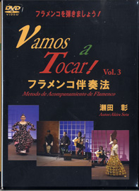 DVD フラメンコを弾きましょう!(3)VAMOS A TOCAR 2枚組【メール便不可商品】【沖縄・離島以外送料無料】