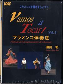 DVD フラメンコを弾きましょう!(2)VAMOS A TOCAR 2枚組【メール便不可商品】【沖縄・離島以外送料無料】