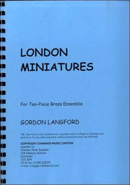 【取寄品】AB416 輸入 ロンドンの小景【金管十重奏】【楽譜】【沖縄・離島以外送料無料】