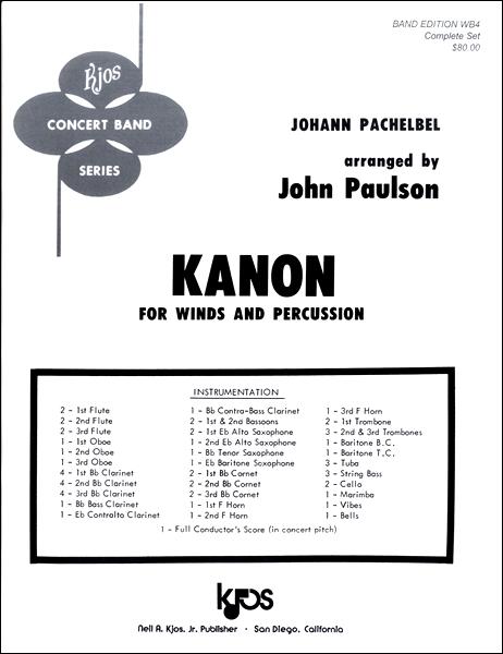 【取寄品】輸入Kanon (Johann Pachelbel)/パッヘルベルのカノンCD付【楽譜】【沖縄・離島以外送料無料】