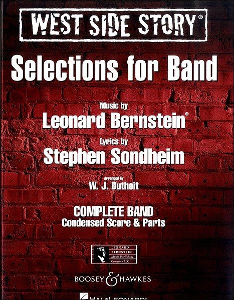 【取寄品】輸入West Side Story - Selections for band/ウエスト・サイド物語-バンドのためのセレクションCD付【楽譜】【沖縄・離島以外送料無料】
