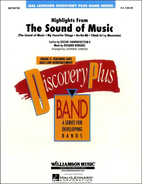 【取寄品】輸入Highlights from The Sound of Music/サウンド・オブ・ミュージックより ハイライトCD付【楽譜】【沖縄・離島以外送料無料】