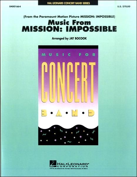 【取寄品】輸入Music from Mission: Impossible/「ミッション:インポッシブル」メドレーCD付【楽譜】【沖縄・離島以外送料無料】