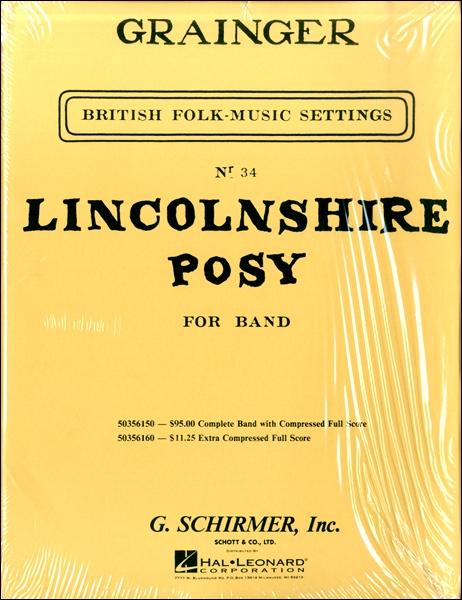 【取寄品】輸入Lincolnshire Posy/リンカンシャーの花束【楽譜】【沖縄・離島以外送料無料】