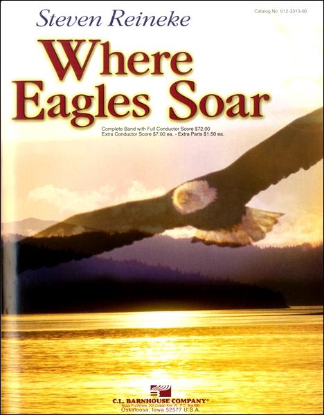 【取寄品】輸入WHERE EAGLES SOAR/鷲が舞うところ【楽譜】【沖縄・離島以外送料無料】