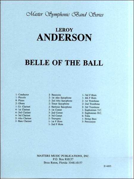 【取寄品】輸入Belle of the Ball/舞踏会の美女CD付【楽譜】【沖縄・離島以外送料無料】