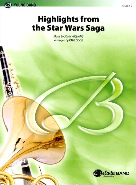 【取寄品】輸入HIGHLIGHTS FROM THE STAR WARS SAGA/「ス【楽譜】【沖縄・離島以外送料無料】