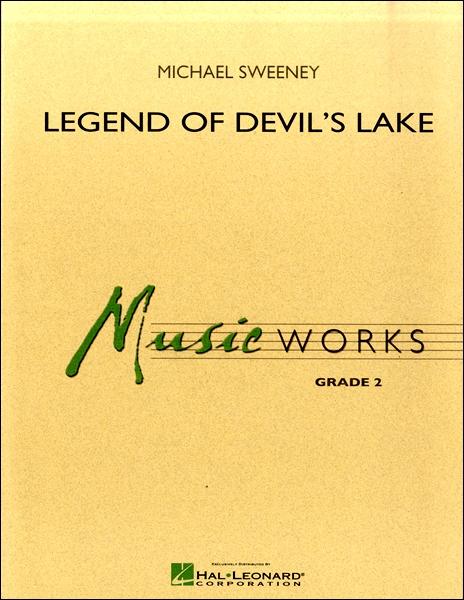 【取寄品】輸入Legend of Devil's Lake/デビルズレイクの伝説CD付【楽譜】【沖縄・離島以外送料無料】