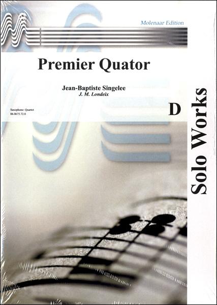 【取寄品】輸入Premier Quator/サクソフォーン4重奏曲(サックス4重奏)【楽譜】【沖縄・離島以外送料無料】[おまけ付き]