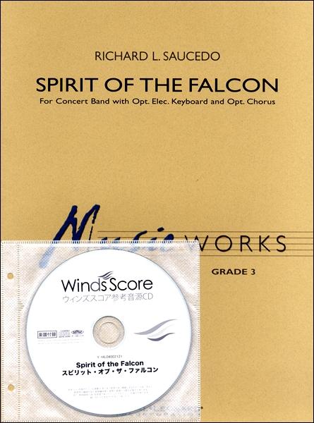 【取寄品】輸入Spirit of the Falcon/スピリット・オブ・ザ・ファルコンCD付【楽譜】【沖縄・離島以外送料無料】