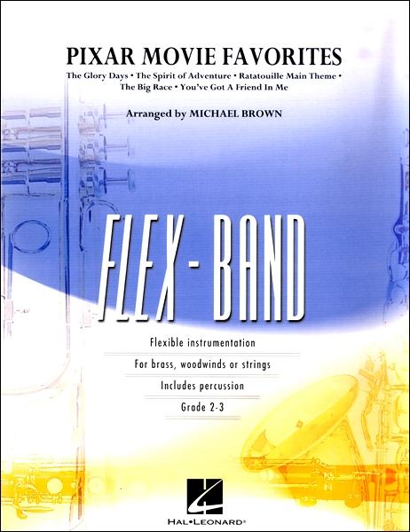 【取寄品】輸入Pixar Movie Favorites/ピクサー・ムービー・フェイバリッツ(フレックス・バンド)【楽譜】【送料無料】【smtb-u】[音符クリッププレゼント]