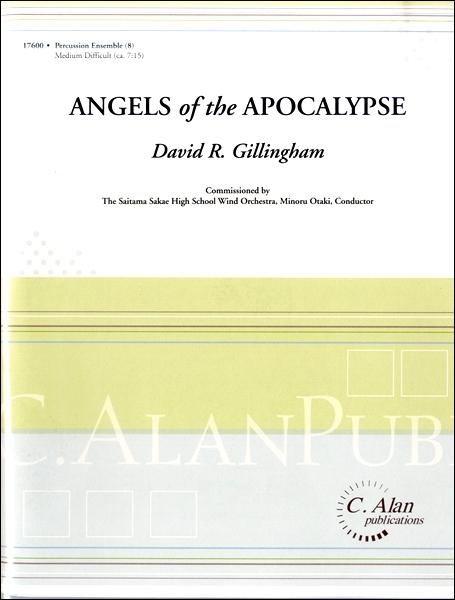 【取寄品】輸入Angels of the Apocalypse/ヨハネ黙示録の天使たち(打楽器8重奏)【楽譜】【沖縄・離島以外送料無料】