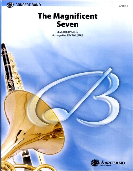 【取寄品】輸入The Magnificent Seven/荒野の七人(R.フィリップ編)CD付【楽譜】【沖縄・離島以外送料無料】