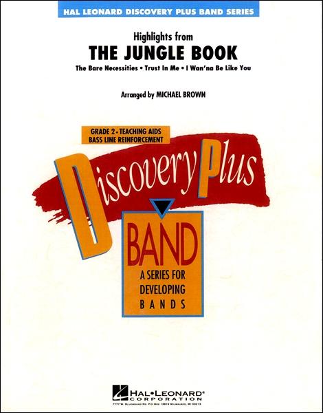 【取寄品】輸入Highlights from The Jungle Book/「ジャングル・ブック」より ハイライト【楽譜】【沖縄・離島以外送料無料】