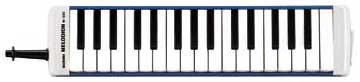 【現品限り】メロディオン M-32C(ブルー)32鍵盤【沖縄・離島以外送料無料】[おまけ付き]