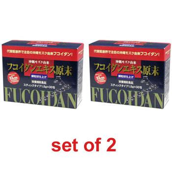 FUCOIDAN EXTRACT BULK POWDER (Granule) × 2 piece set