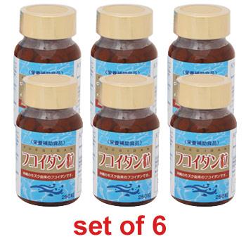Fucoidan Tablet (set of 6)