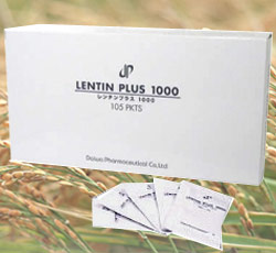 【free sample!】LENTIN PLUS 1000 (105 packets)