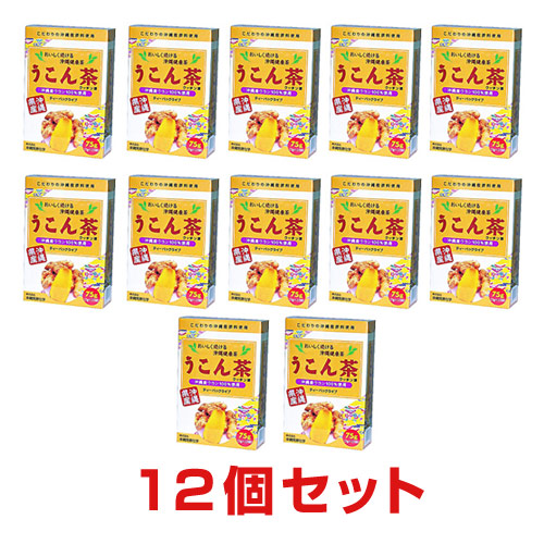 うこん茶(ウッチン茶) 12個 75g(3g×25袋)【送料無料】
