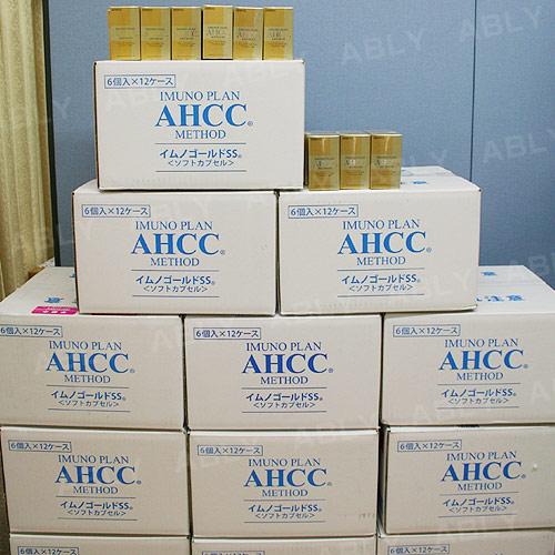 AHCC SS 最新版 依諾金軟膠囊 ×3箱