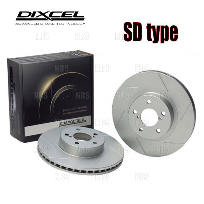 DIXCEL 無料サンプルOK ディクセル SD type ローター 前後セット フォルクスワーゲン トゥアレグ 1311233 7LBHKS おすすめ 1351235-SD 1 5~11 7LBHKA 07