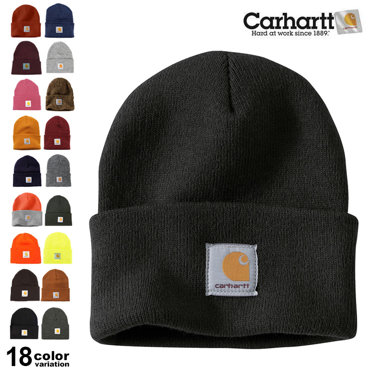 64fcd77ad1a52a abot: Carhartt (car heart) knit cap / lapel (18 colors) [A18 ...