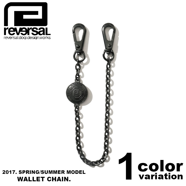 REVERSAL リバーサル ウォレットチェーン BLACK BEAUTY CONCHO WALLET CHAIN (1色) [RVAP15SS021C] 【reversal グッズ リバーサル REVERSAL アクセサリー 正規 】【あす楽対応】
