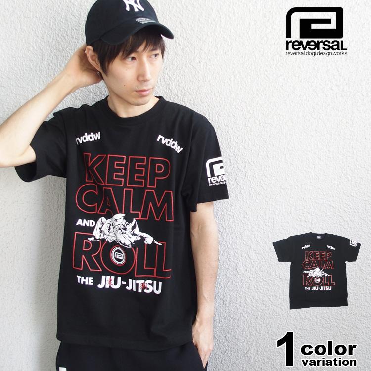 【リバーサル】REVERSAL リバーサル Tシャツ 半袖 KEEP CALM AND ROLL TEE メンズ [t552] 【あす楽対応】