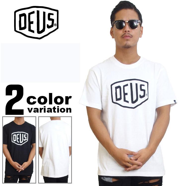 【deus tシャツ】 DEUS Ex Machina デウスエクスマキナ Tシャツ 半袖 / SHIELD S/S TEE [DMW41808E] 【あす楽対応】
