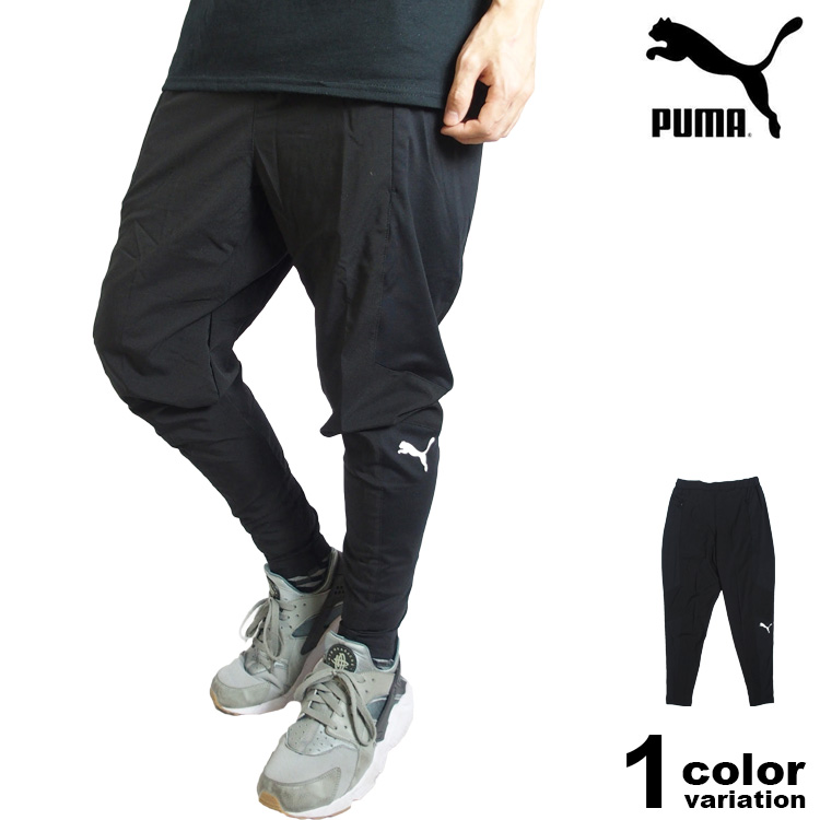PUMA プーマ N.R.B. テーパード パンツ メンズ (puma トレーニングパンツ ロングパンツ ブラック 517948 ) 【あす楽対応】
