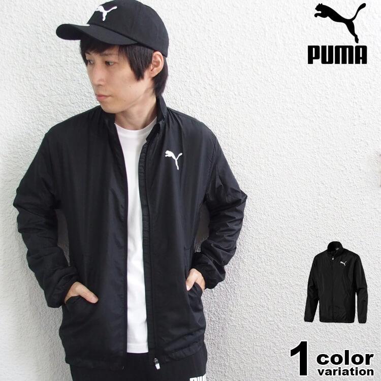 PUMA プーマ ジャケット アクティブ ウーブン ジャケット Active Woven JKT (puma ジャケット アウター スポーツ ブラック 853727) 【あす楽対応】