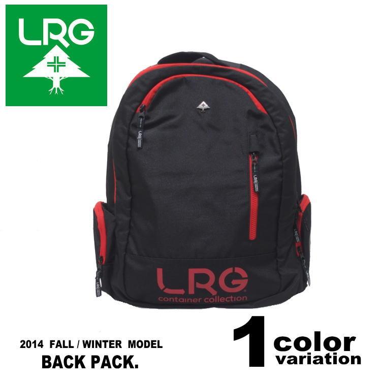 LRG (エルアールジー) RC REAEARCH PACK / バックパック / リュックサック (1色) [Z141515] 【ストリート ヒップホップ メンズ ファッション BAG BACKPACK 鞄 カバン デイバッグ BAG ショルダー カバン 2014年秋物新作 】【あす楽対応】