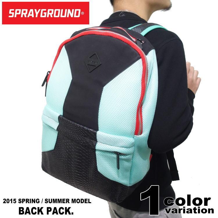 spray ground スプレーグラウンド リュック バックパック/RETRO MESH BLACK SNAKE [B368]【あす楽対応】