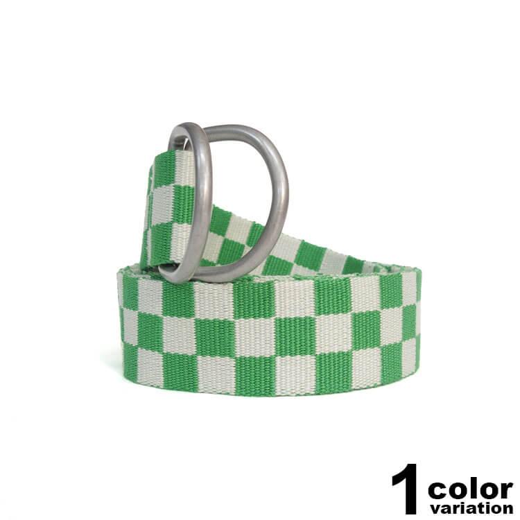 ステューシー STUSSY WOMEN ダブルリング ベルト レディース Sabi Checker Jacquard Belt (stussy ベルト 235005 ストゥーシー スチューシー ) 【あす楽対応】
