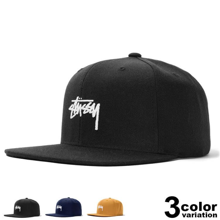 ステューシー STUSSY キャップ スナップバック メンズ レディース Stock Cap (stussy cap 131908 スナップバックキャップ ストゥーシー スチューシー ) 【あす楽対応】